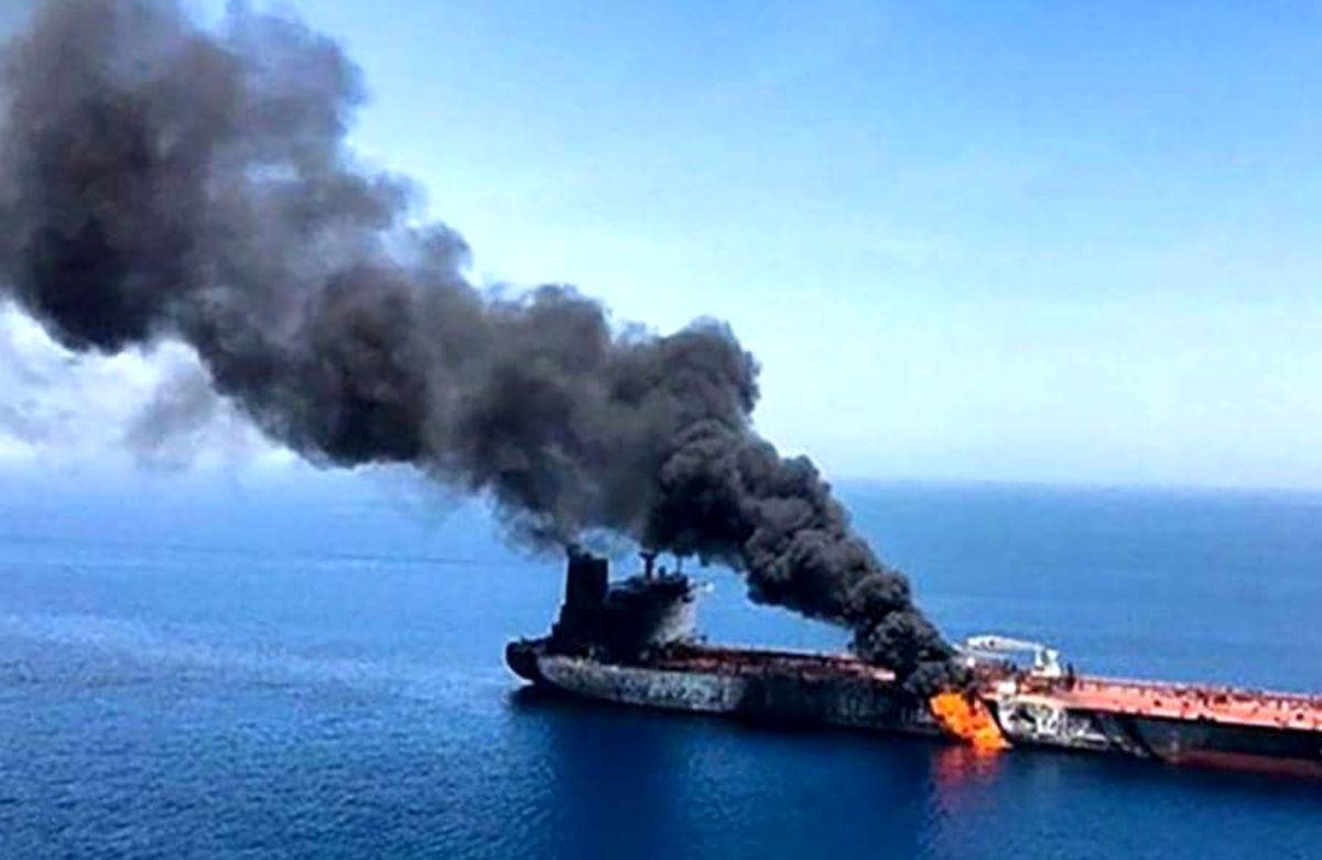 انفجار یک کشتی در جنوب ایران / ادعای انگلیس چیست؟!