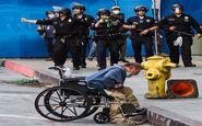 شلیک بی دلیل پلیس لسآنجلس به مرد معلول