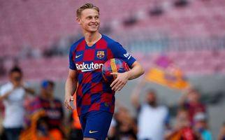 درخشش های دی یونگ در ترکیب بارسلونا