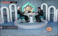 لحظه وقوع زلزله امروز در برنامه زنده تلویزیونی سیمای مرکز کرمان و واکنش جالب مهمان برنامه! + فیلم