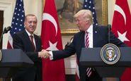 ترامپ: فعلا برنامهای برای تحریم ترکیه نداریم