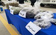 کشف 165 کیلوگرم مواد مخدر توسط کلانتری ها و پاسگاه های کرمانشاه