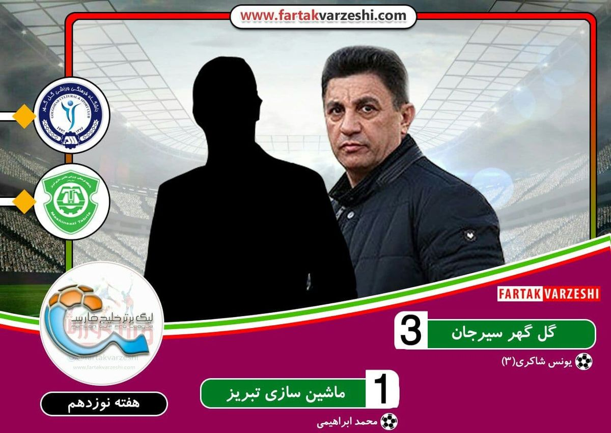 هفته نوزدهم لیگ برتر|گل گهر با ماشین تبریزی به نیمه بالای جدول آمد