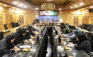 نشست خبری رئیس دانشگاه رازی کرمانشاه با اصحاب رسانه به روایت تصویر