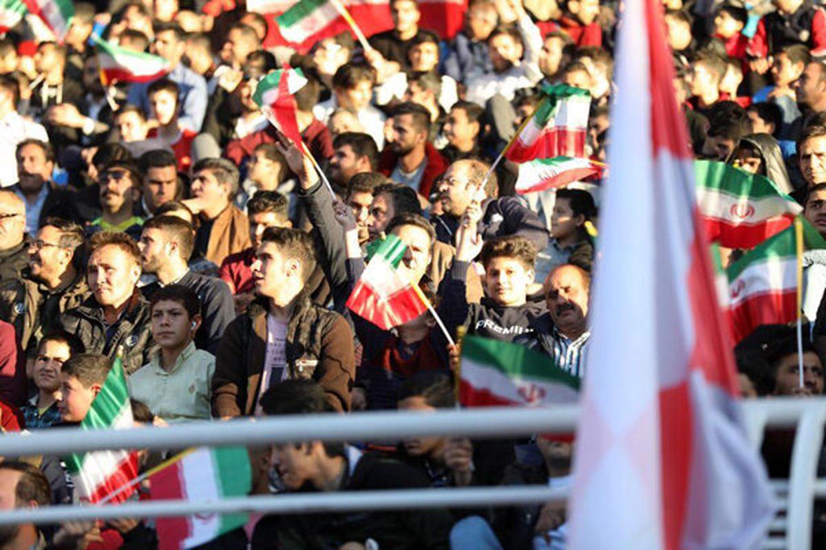قطعی شدن حضور تماشاگران در دیدار تیم ملی فوتبال ایران و کره