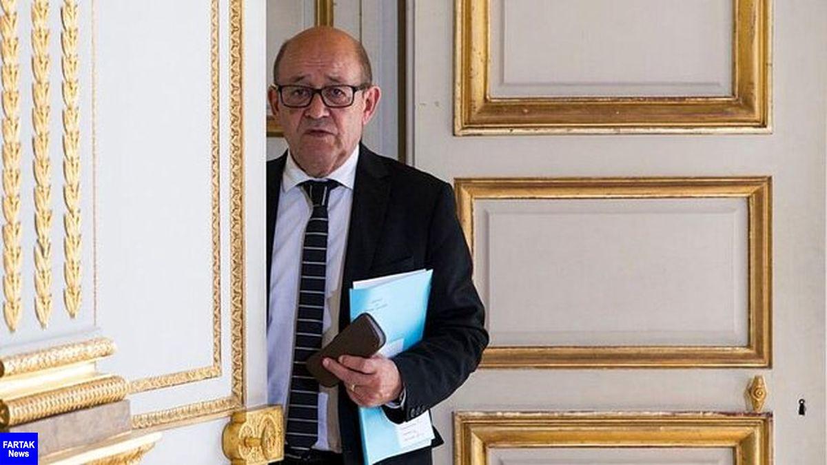 وزیر خارجه فرانسه: سخنان جو بایدن درمورد ترامپ با واقعیت همخوانی دارد