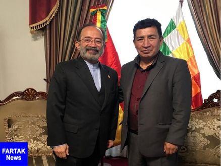 تاکید بر گسترش همکاری های ایران و بولیوی