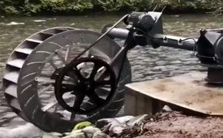 تولید برق با قدرت جریان آب