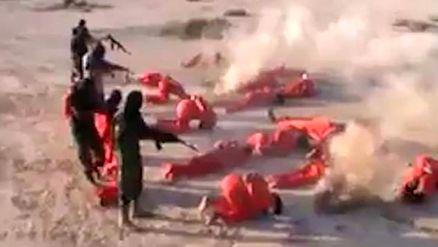 خود کرده را تدبیر نیست / اعدام داعشی ها به شیوه خودشان