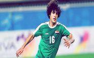 ادعای عجیب بازیکن عراق پس از تساوی برابر ایران