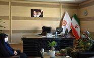 دیدار مدیرکل بهزیستی استان کرمانشاه با  فرمانده ارشد نظامی آجا در غرب کشور