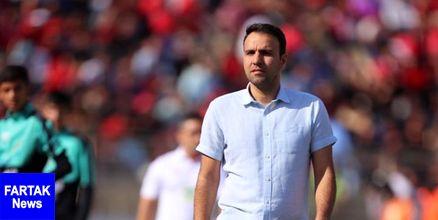 خلیلی: فرشاد احمدزاده به دلیل ناراحتی زودتر ورزشگاه را ترک نکرد