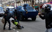 حمایت آلمان از اقدام خشونت آمیز پلیس فرانسه در مقابله با جلیقه زردها