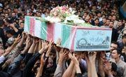 آیین وداع با ۱۱ شهید دفاع مقدس در اصفهان برگزار شد