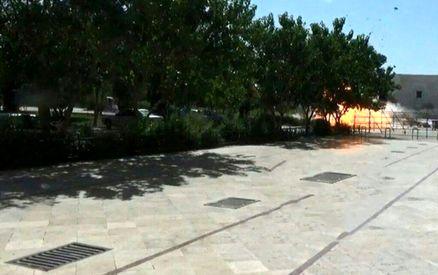 لحظه انفجار در حرم امام خمینی + عکس
