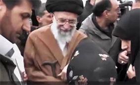دیدار رهبر انقلاب با زلزله زدگان کرمانشاهی/ درد دل افراد بیخانمان با مقام معظم رهبری + فیلم