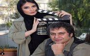 آقای کارگردان در کنار همسر بازیگرش   عکس