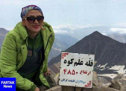 تلاش ها برای یافتن کوهنورد زن مفقود شده ادامه دارد