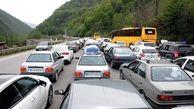 ترافیک پرحجم و سنگین چالوس و هراز/ جمعه از سفر برنگردید