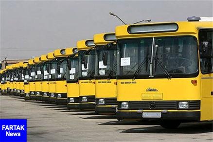 ناوگان اتوبوسرانی تهران، حتی لحظه تحویل سال هم فعال است