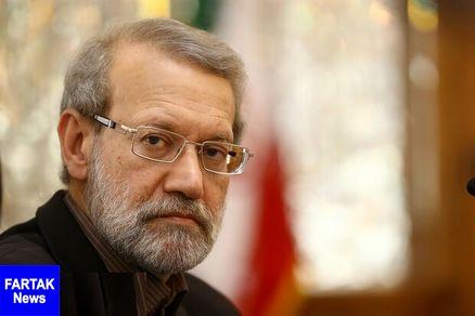 لاریجانی بر گسترش همکاری های ایران و قطر تاکید کرد