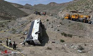جزییات حادثه اتوبوس اردوی دانش آموزان