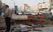 سقوط دو خودرو به گودالی در میدان کشاورز قم/3 نفر جان باختند