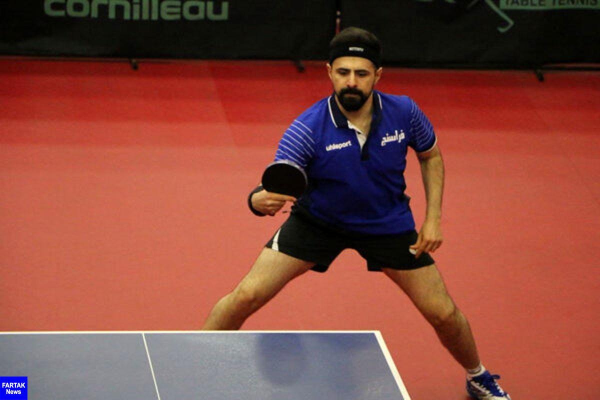 نیما عالمیان تنها نماینده تنیس روی میز ایران در المپیک توکیو شد