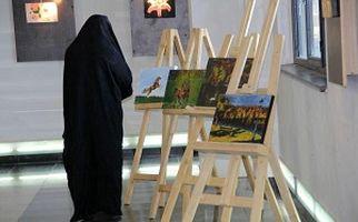 آثار هنری خیره کننده معلولان در یک نمایشگاه متفاوت