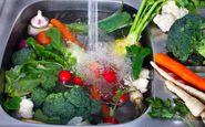 آشنایی با شیوه صحیح شستن میوه ها و سبزیجات