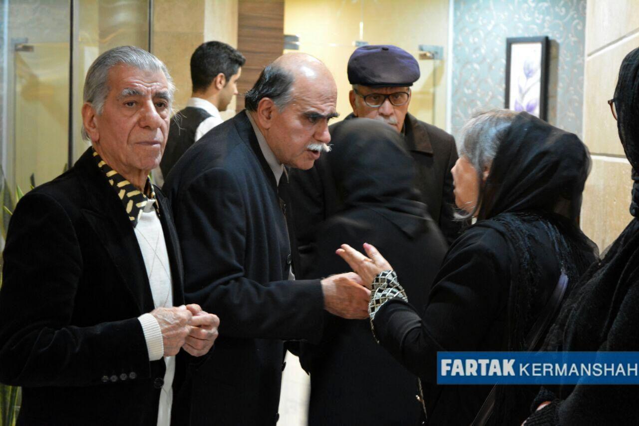 مراسم چهلمین روز درگذشت مادر پرفسور میرجلال الدین کزازی