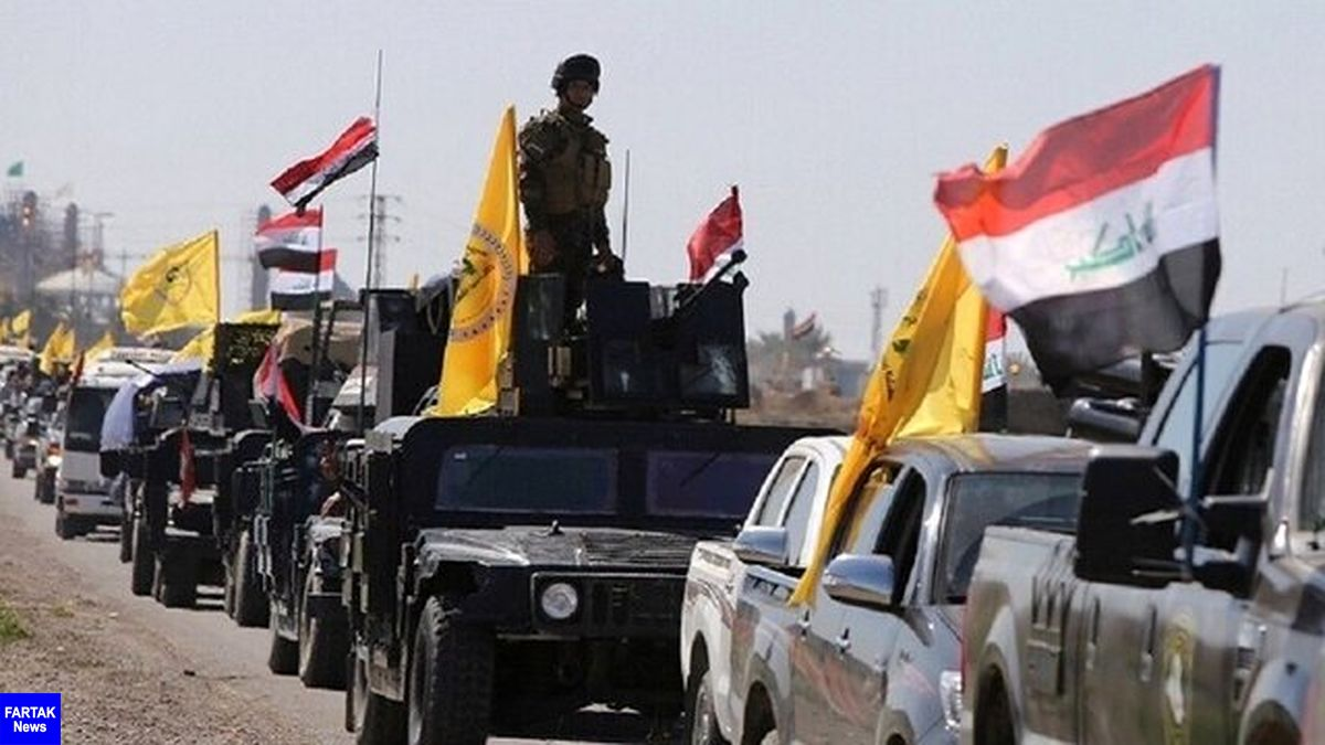 حشد شعبی عراق تجهیزاتی را به مرز موصل فرستاد