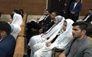 برگزاری مراسمی متفاوت برای تازه دامادهای مرزبان