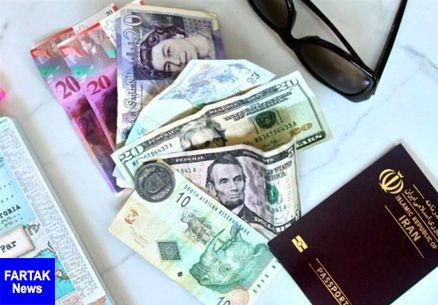 قیمت ارز مسافرتی امروز ۹۷/۱۰/۱۸| یورو ۱۲۷۱۹ تومان شد