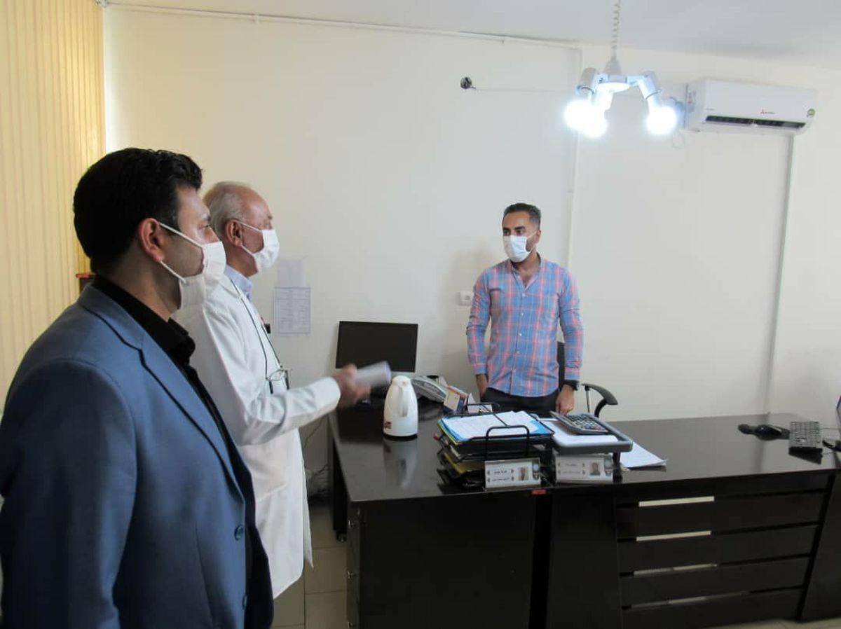 بررسی دوره ای اجرای دستورالعمل های بهداشتی در شهرداری سمنان