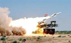 شلیک 112 موشک پدافند ارتش سوریه به سمت موشکهای ائتلاف غربی