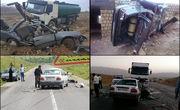 ۲ حادثه تصادف در کندوان و بلده ۴ فوتی داشت