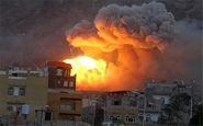 حمله هوایی و توپخانهای ائتلاف سعودی-اماراتی به شهرهای یمن