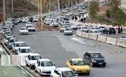 ترافیک جادههای کردستان افزایش یافت
