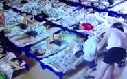 رفتار به دور شان معلم زن با یک پسر بچه / فیلم دوربین مداربسته آبروی معلم را برد+ عکس