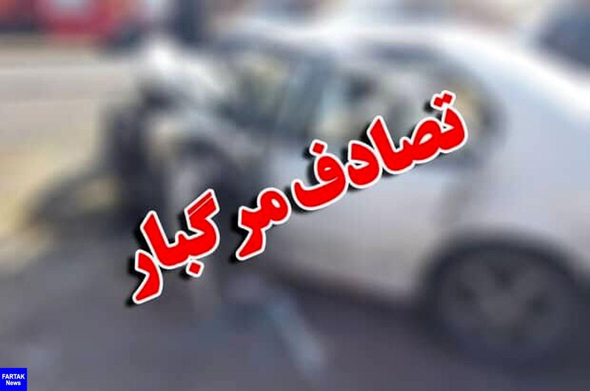 سانحه رانندگی در جاده رامشیر - امیدیه پنج نفر را به کام مرگ کشاند