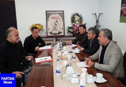 جلسه هیئت مدیره باشگاه پرسپولیس با حضور مدیرعامل