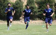 گزارش تمرین استقلال| صحبتهای فرهاد مجیدی با بازیکنان