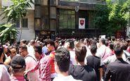 اعتراضات به روز سوم کشیده شد؛ شعار پرسپولیسی ها علیه عرب