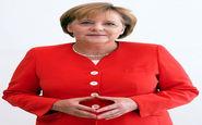عکسی جالب از مرکل صدراعظم آلمان هنگام خرید