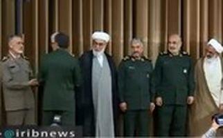 تکریم و معارفه فرماندهان قدیم و جدید سپاه