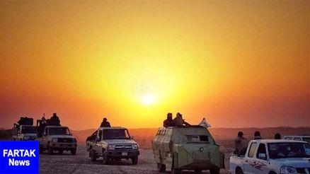 پیشروی نیروهای امنیتی عراق در عملیات گسترده علیه داعش
