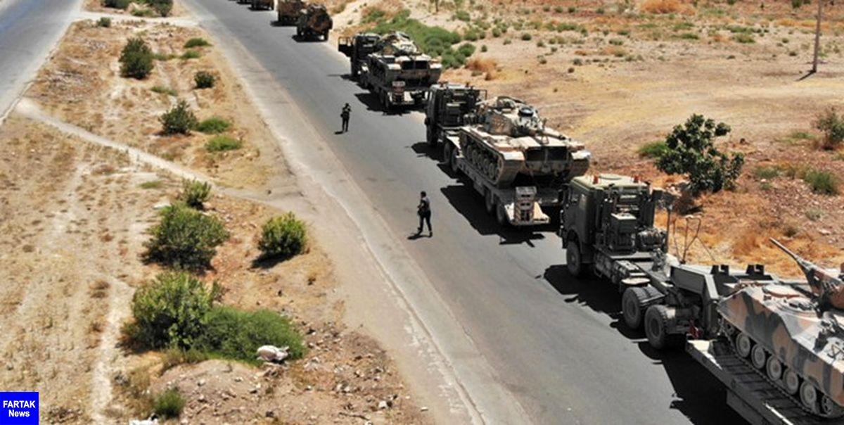 کاروان لجستیک نظامیان آمریکا در غرب عراق هدف حمله قرار گرفت