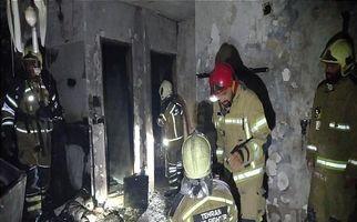 انفجار بامدادی در ساختمان ۷ طبقه مسکونی