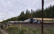کشته شدن دو نفر در اثرخروج قطار از ریل